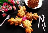 Cách làm bánh Trung Thu con cá đẹp lung linh
