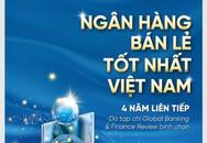 """VietinBank tự hào 4 năm liên tiếp đạt giải """"Ngân hàng Bán lẻ tốt nhất Việt Nam"""""""