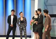 Hứa Minh Đạt bê đỡ cho Việt Hương hít xà đơn trên sóng truyền hình