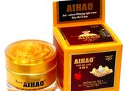 Một lô sản phẩm kem trắng da mặt AIHAO bị cấm lưu hành vì chứa chất không đúng với công bố
