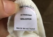 Thu giữ hơn 600 áo phông do Trung Quốc sản xuất gắn nhãn mác Việt Nam