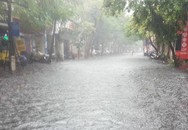 Hà Nội vừa mưa to, nhiều tuyến đường ngập sâu