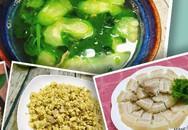 Bữa cơm chiều đơn giản, thanh mát cho ngày nắng lên