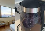 Giặt quần lót trong ấm đun nước, nữ du khách khiến nhân viên khách sạn phẫn nộ không nói nên lời