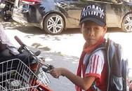 Nói với bà đi đổ rác, bé trai lớp 6 đạp xe bỏ nhà đi