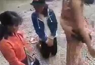 Quảng Ngãi: Ba nữ sinh bị bạn bắt quỳ, đánh tới tấp
