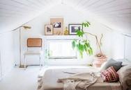 Phòng ngủ gác mái đẹp lịm tim, tại sao không thử?