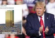 Đăng tấm hình tòa tháp vàng 'siêu to khổng lồ' ở Greenland, ông Trump lại gây bất ngờ với lời hứa mới