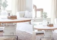Xu hướng sống tối giản lên ngôi giúp phong cách trang trí nhà mộc mạc với các món đồ thủ công được dịp nổi rần rần