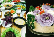 """Vợ đảm """"trồng hoa"""" trên mâm cơm khiến chồng mê con thích, nghìn chị em ủng hộ"""