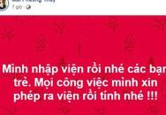 Hoa hậu Mai Phương Thúy phải nhập viện khẩn cấp khiến người hâm mộ lo lắng