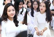 Nữ sinh Hà thành trong tà áo dài trắng gây thương nhớ ngày khai giảng