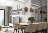 Căn hộ chỉ có 2 phòng ngủ nhưng chủ nhà không ngần ngại đầu tư nội thất khiến nó sang chảnh hơn gấp bội