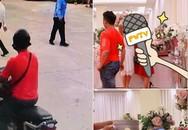 Xôn xao hình ảnh nam thanh niên trộm phong bì trong thùng tiền cưới khiến gia chủ phải đăng tin tìm kiếm