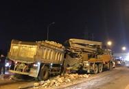 Hà Nội: 2 vụ tai nạn xảy ra cùng lúc tại cầu vượt Mai Dịch, hàng loạt phương tiện va chạm mạnh