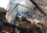 Hà Nội: Cháy lớn tại cửa hàng chăn ga gối đệm, người dân hoảng sợ tháo chạy