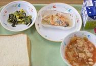Bữa trưa trong các trường học Nhật Bản