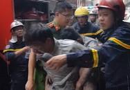 Cuộc giải cứu chàng trai trong đám cháy của anh lính cứu hỏa