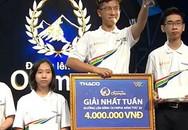 10X Quảng Ninh lập kỷ lục đầu tiên tại 'Đường lên đỉnh Olympia' năm 20