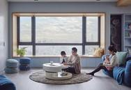 Căn hộ màu xanh đậm có cách sắp đặt nội thất khoa học tuyệt vời