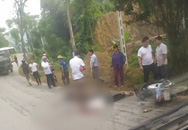 Chồng bị ô tô cán tử vong, vợ nguy kịch sau khi đâm trúng chó chạy qua đường
