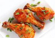 Cuối tuần làm ngay thực đơn có gà nướng thơm phức, đảm bảo các bé thích mê tơi