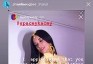 Sau Ngô Thanh Vân đến lượt Phạm Hương phản ứng thế này trước việc mặc áo dài nhưng không mặc quần của nữ ca sĩ Mỹ
