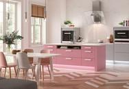 Lựa chọn căn bếp màu hồng - tại sao không?