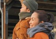 Hình ảnh đẹp của Tăng Thanh Hà bên con trai trên đất Mỹ