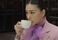 """Ngô Thanh Vân bỗng """"sến súa"""" với đồ tím hot trend, khác hẳn style cá tính như gái đôi mươi mọi khi"""