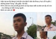Nam sinh Nghệ An đi xe máy 200km ra Hà Nội tìm bạn gái quen qua mạng nhưng bị lạc đường không thể trở về