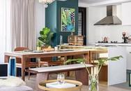 Những cách bài trí bàn ăn với đồ nội thất vô cùng nổi bật cho không gian bếp của nhà chung cư