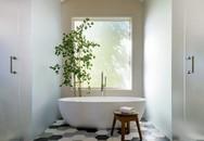 Chẳng thể kìm lòng trước những mẫu phòng tắm nhỏ nhưng lại sạch mát này