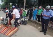 Người thân gào khóc bên thi thể người phụ nữ bị xe trộn bê tông cán tử vong