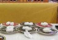 Thực khách ăn hết thịt cá, bỏ cơm trong sushi