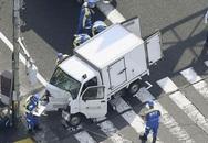 Xe tải lao vào nhóm trẻ ở Nhật Bản, nhiều người phải nhập viện