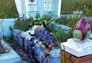 Thi thể người đàn ông phân hủy trên ngôi mộ ở Đà Lạt