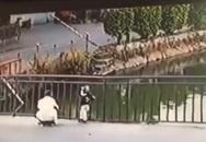 Lặng người với clip em bé rơi xuống hồ nước ngay trước mặt người lớn khiến nhiều phụ huynh sợ hãi