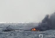 Cháy tàu cá: 6 ngư dân Việt Nam mất tích tại Hàn Quốc