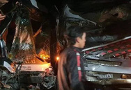 Tai nạn kinh hoàng: Xe container tông trực diện xe khách khiến 1 người chết, 3 người bị thương và nhiều người ngất xỉu