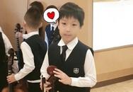 """Nàng """"Dae Jang Geum"""" Lee Young Ae chia sẻ khoảnh khắc hiếm hoi của quý tử tại trường học"""