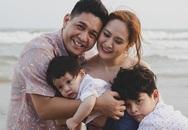 Thanh Thúy - Đức Thịnh đưa hai con về 'nơi tình yêu bắt đầu'