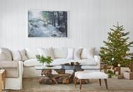 Cách giúp phòng khách nhà bạn tràn ngập không khí Giáng sinh