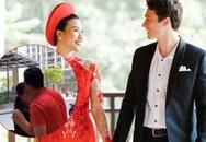 Hoàng Oanh khóc tiễn chồng Tây rời Việt Nam sau đám cưới