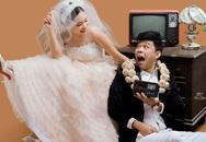 """Diễn viên """"Táo quân"""": 'Vợ sắp cưới điên và lập dị giống tôi'"""