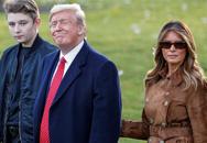 Tổng thống Mỹ chỉ nói đúng một câu về cậu út Barron Trump nhưng cũng đủ khiến người dùng mạng phát cuồng