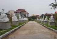HI HỮU: Điều tra vụ hàng chục pho tượng La Hán ở Hà Nội bị kẻ xấu phá hoại