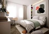 Thiết kế nhà có gác lửng với diện tích 100m² cho gia đình 4 người với tổng chi phí 158 triệu đồng