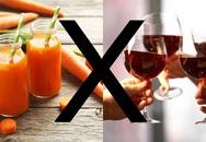 """Những thực phẩm trở thành """"thuốc độc"""" khi dùng chung với rượu"""