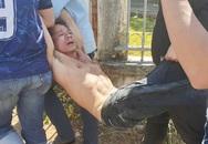 Điều tra vụ trộm mai, trung úy công an bị chém rách bụng